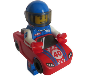 LEGO Race Car Guy Minifigure