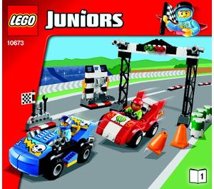 LEGO Race Car Rally Set 10673 Instructions
