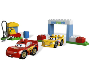 Lego Duplo Cars Race Day Instructions