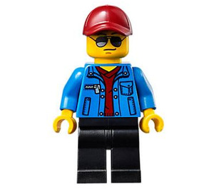 LEGO Race Official Minifigure