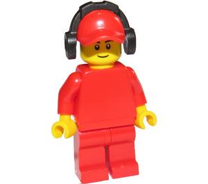 LEGO Race worker Minifigure