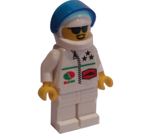 LEGO Racer with Blue Sunglasses Minifigure