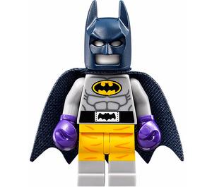 LEGO Raging Batsuit - Batman Batsuit with Boxing Gloves From Lego Batman Movie Minifigure