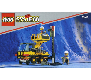 LEGO Rail and Road Service Truck Set 4541