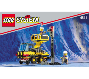 LEGO Rail and Road Service Truck Set 4541 Instructions