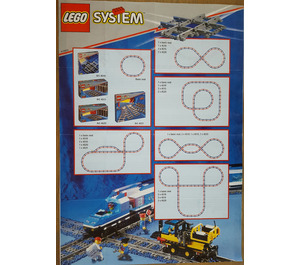 LEGO Rail Crossing Set 4519 Instructions