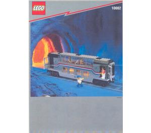 LEGO Railroad Club Car Set 10002 Instructions
