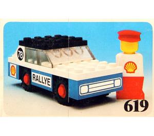 LEGO Rally Car Set 619