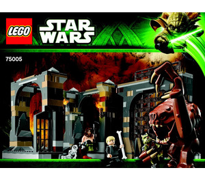 LEGO Rancor Pit Set 75005 Instructions
