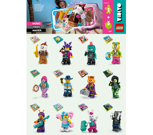 LEGO Random Vidiyo Set 43101-0 Instructions