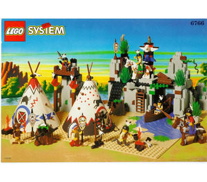LEGO Rapid River Village Set 6766 Instructions