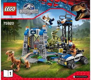 LEGO Raptor Escape Set 75920 Instructions