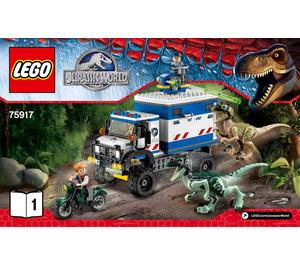 LEGO Raptor Rampage Set 75917 Instructions