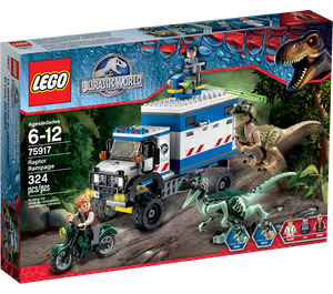 LEGO Raptor Rampage Set 75917 Packaging