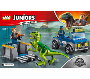 LEGO Raptor Rescue Truck Set 10757 Instructions