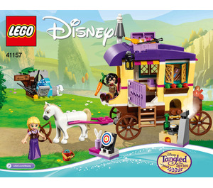 LEGO Rapunzel's Travelling Caravan Set 41157 Instructions