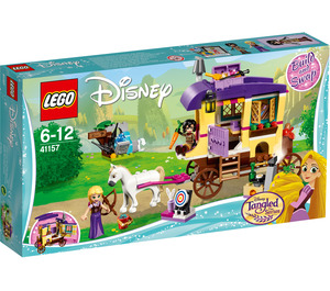 LEGO Rapunzel's Travelling Caravan Set 41157 Packaging