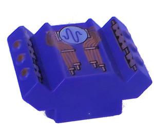LEGO Rear 2 x 2 Motor Block with Decoration (30601)