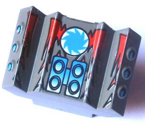 LEGO Rear 2 x 2 Motor Block with Shredd's Racer (30601)