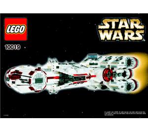 LEGO Rebel Blockade Runner Set 10019 Instructions