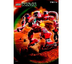 LEGO Recon Mech RP Set 7314 Instructions