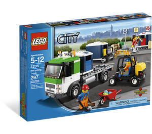 LEGO Recycling Truck Set 4206-2