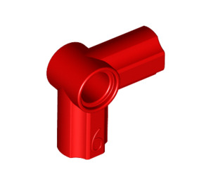 LEGO Red Angle Connector #6 (90º) (32014 / 42155)