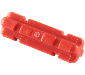 LEGO Red Axle 2 with Grooves (32062)