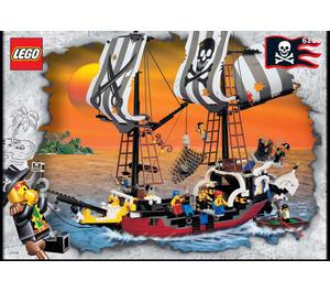 LEGO Red Beard Runner Set 6290 Instructions