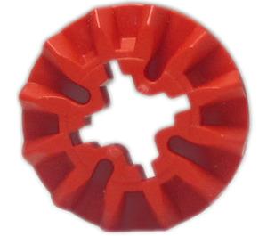 LEGO Red Bevel Gear with 12 Teeth (6589)