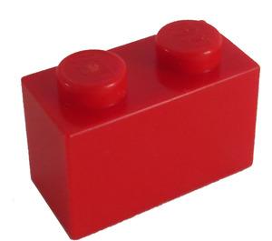 LEGO Red Brick 1 x 2 (3004 / 93792)