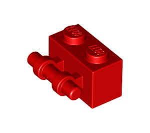 LEGO Red Brick 1 x 2 with Handle (30236)
