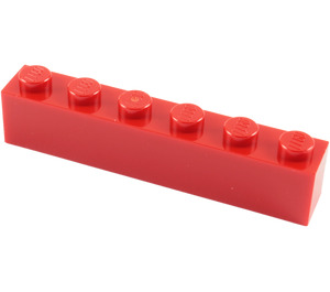 LEGO Red Brick 1 x 6 (3009)