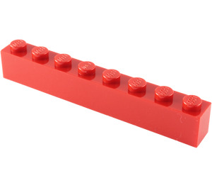 LEGO Red Brick 1 x 8 (3008)