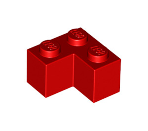 LEGO Red Brick 2 x 2 Corner (2357)