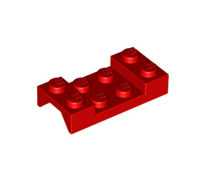 LEGO Red Car Mudguard 2 x 4 without Hole (3788)