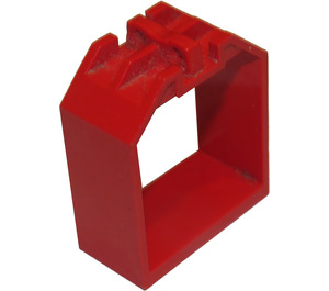 LEGO Red Container 4 x 2 x 4 with 2 Click Hinges (30637)
