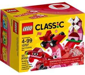 LEGO Red Creative Box Set 10707 Packaging