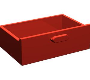 LEGO Red Cupboard Drawer (4536)