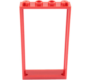 LEGO Red Door Frame 1 x 4 x 6 Single Sided (40289 / 60596)