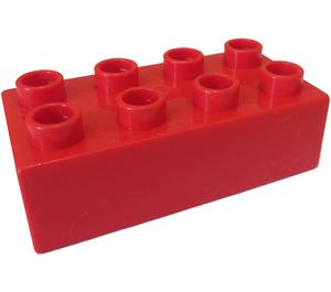LEGO Red Duplo Brick 2 x 4 (3011 / 31459)