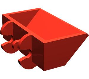 LEGO Red Excavator Bucket 2 x 4