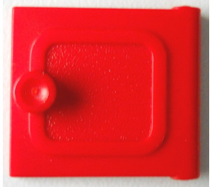 LEGO Red Fabuland Cupboard 2 x 6 x 7 Small Door