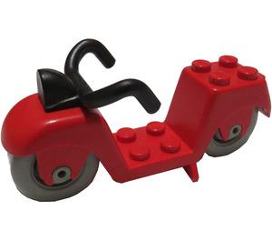 LEGO Red Fabuland Motorcycle