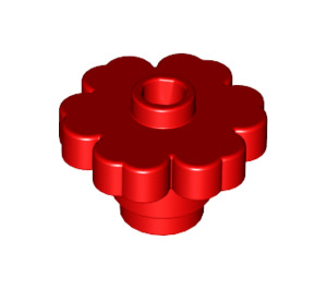 LEGO Red Flower 2 x 2 with Open Stud (4728)