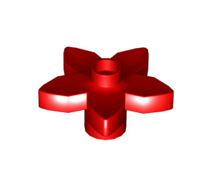 LEGO Red Flower with Angular Petals (6510)