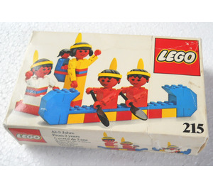 LEGO Red Indians Set 215-1 Packaging