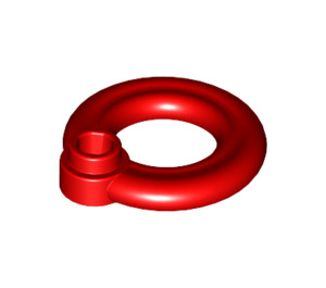 LEGO Red Lifebuoy with Hollow Stud (30340)