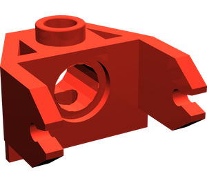 LEGO Red Magnet Holder 2 x 3 (2607)