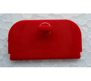 LEGO Red Mail Box Lid 4 x 2 (33326)